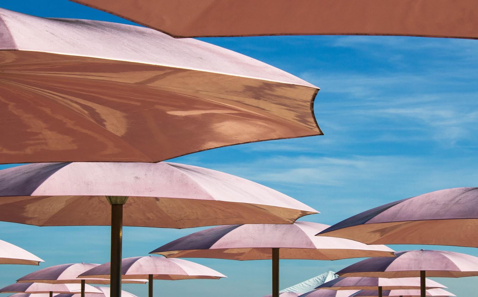 UV-Schutz Sonnenschirme